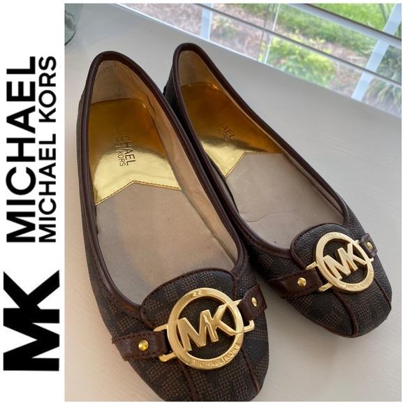 Michael Michael Kors Logo Shoes Flats